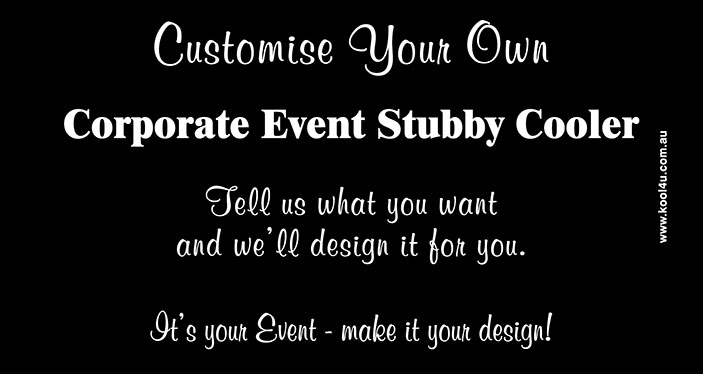 Corporate Events Customise Your Own Ce008 Kool 4 U