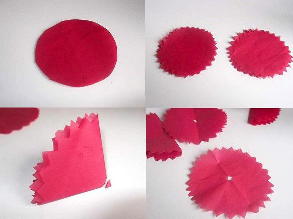 Decorations Using Tissue Paper Make Tissue Paper Flowers