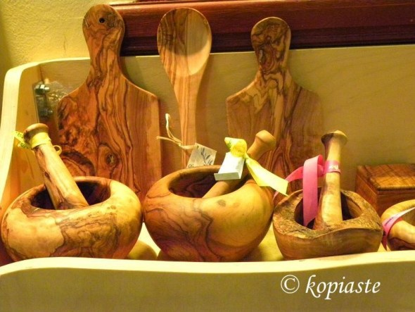 Wooden Pestle and Mortars