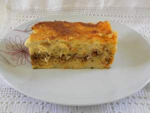 Pastitsio or Makaronia tou fournou