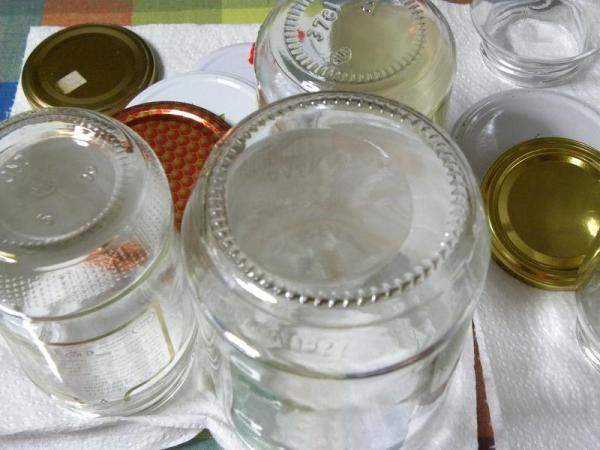 How to sterilize jars