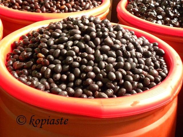 elies olives kalamon