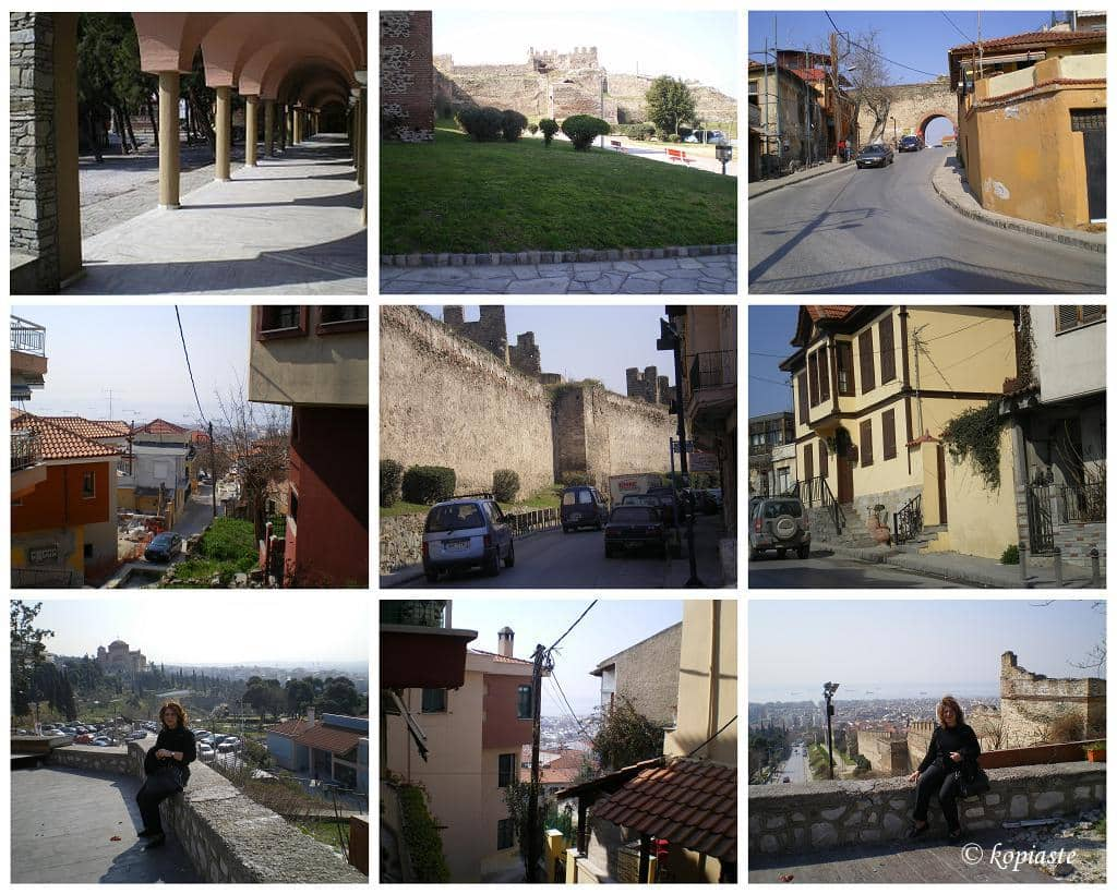 collage old town THESSALONIKI