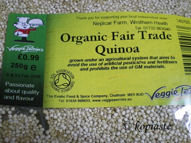 quinoa package