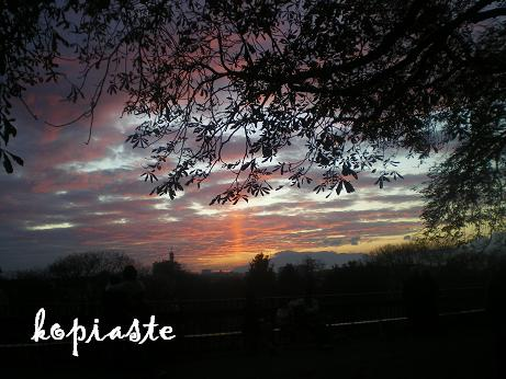 university-park sunset