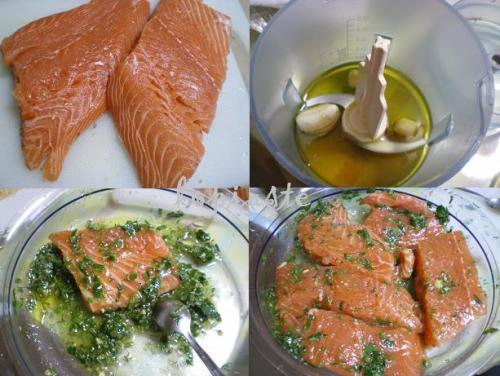 Olive Oil Poached Salmon With Indian Spices Recipe — Dishmaps
