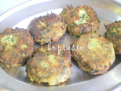 courgette patties