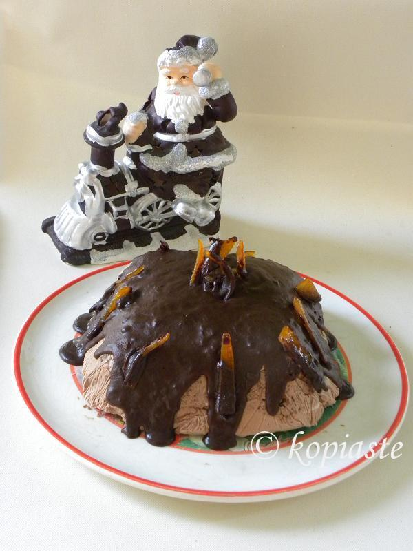 Santa and Lava Cake