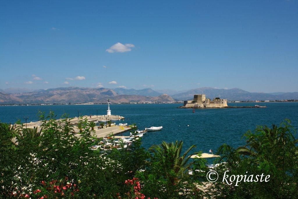 View from Acronafplia top - Bourdji