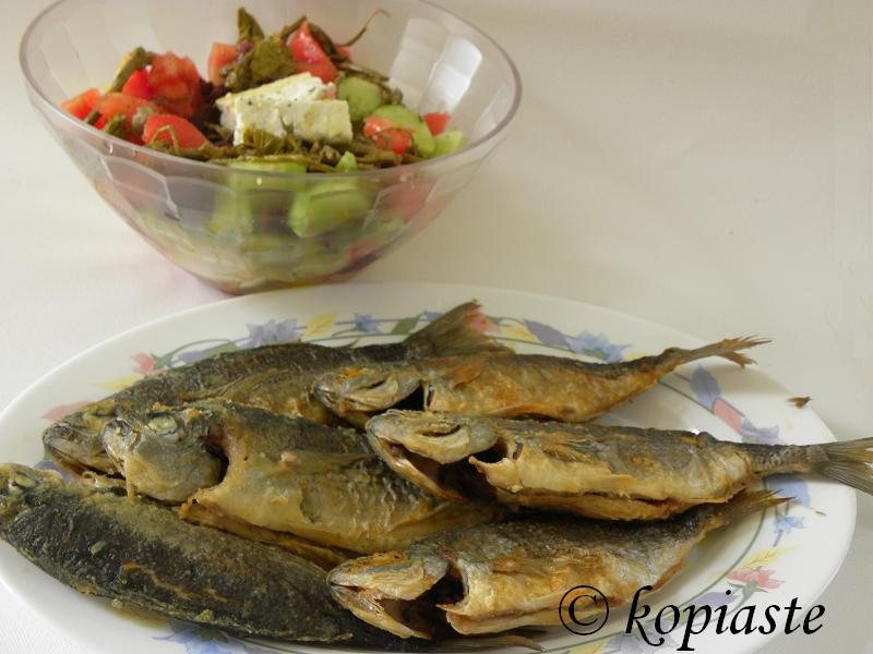 Melanouria and Pickled Salad