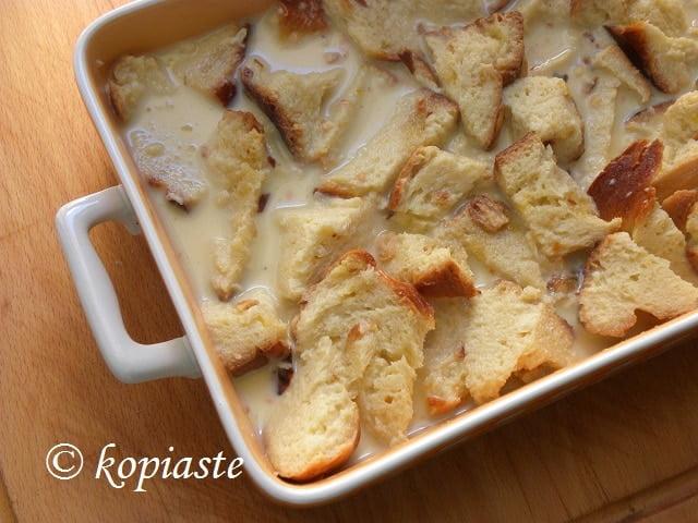 Tsoureki Pudding