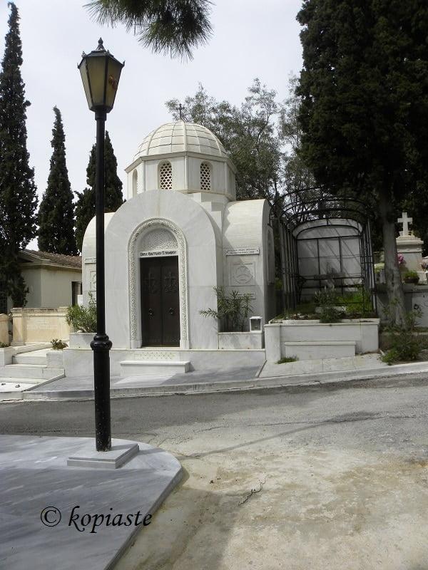 Church grave