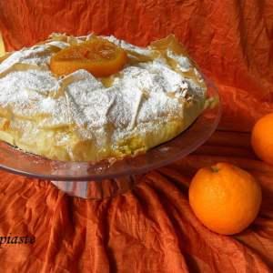 Portokalopita (Orange Pie with Phyllo)