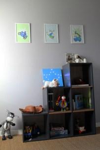 Rangements cube MA CHAMBRE D'ENFANT