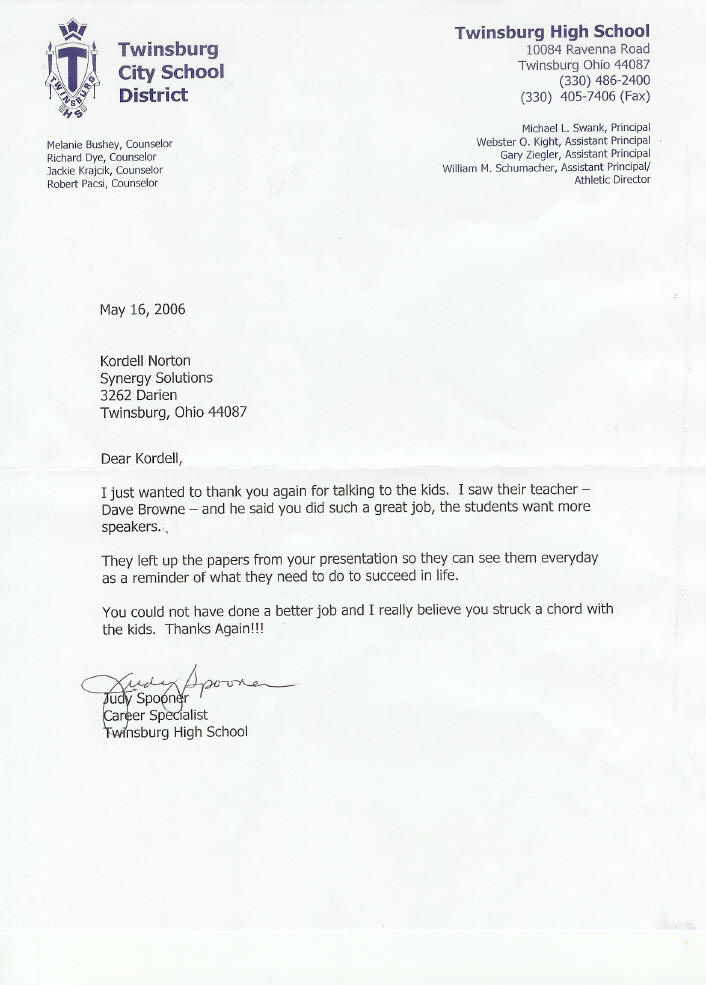 reference letter for high school student - Deanroutechoice - reference letter for school