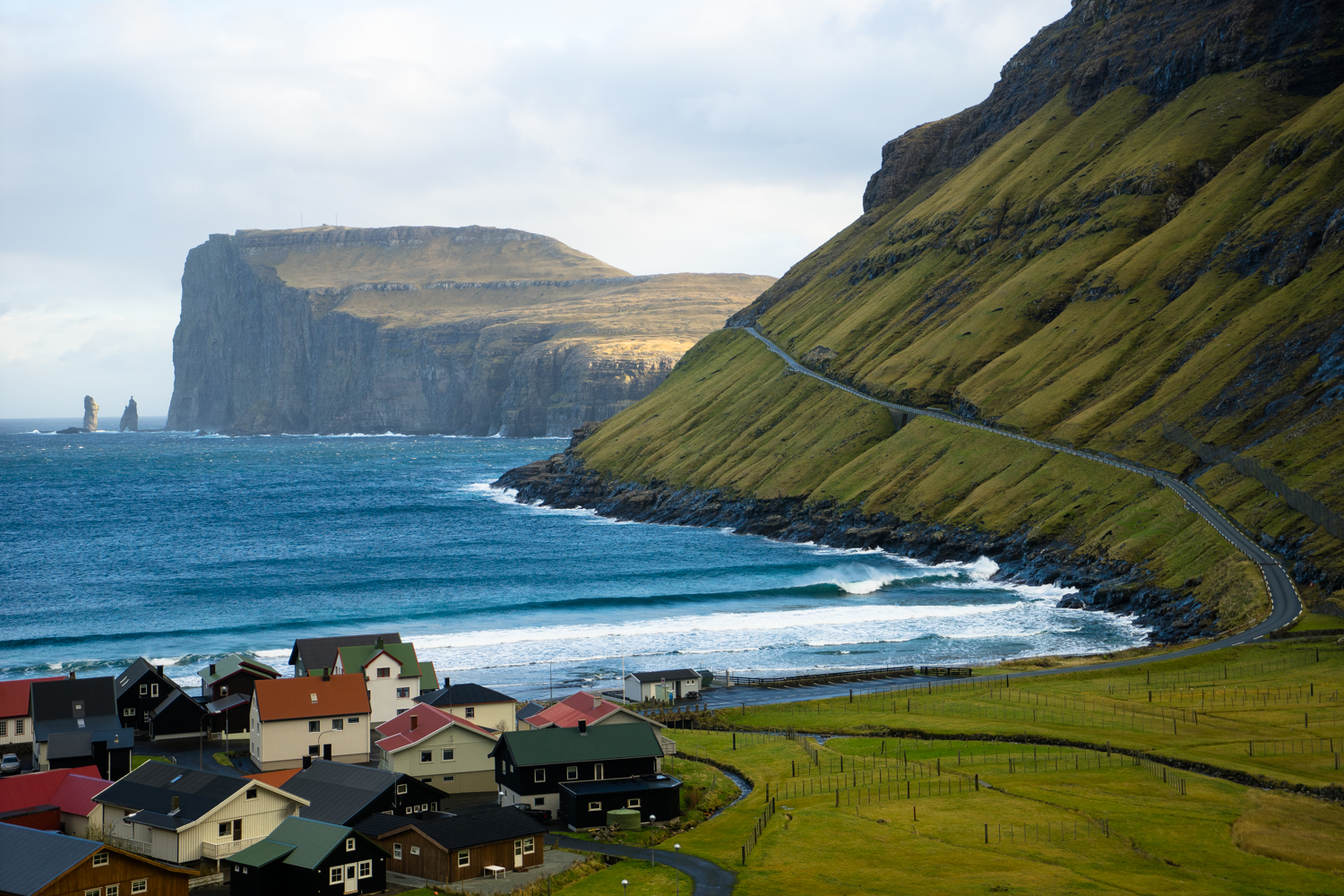 Fall 1080p Wallpaper Faroes A Film By Ben Weiland And Chris Burkard Film