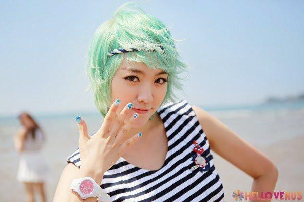 Rainbow of K-Pop Hair