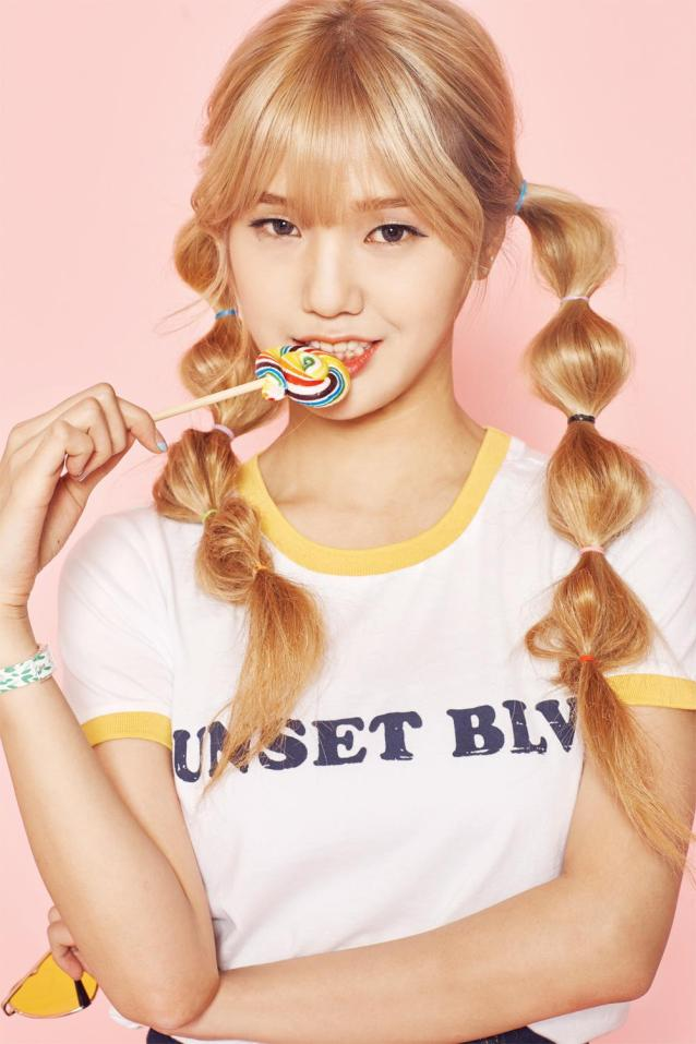 Oh My Girl share sweet teasers for Mimi, JinE, Arin and