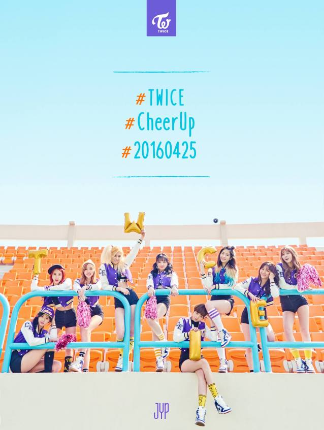 Image: TWICE Cheer Up / JYP Entertainment