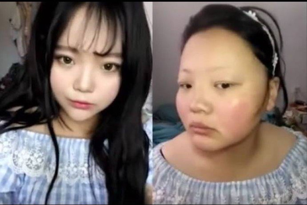 internet ulzzang demonstrates the power of makeup with
