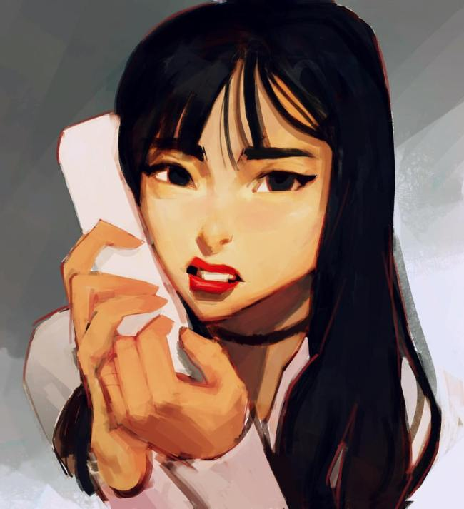 TWICE Nayeon / Drawing by Samuelyounart@Tumblr
