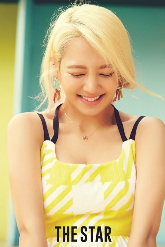 Image: Girls' Generation's Hyoyeon for The Megastar 2016 issue