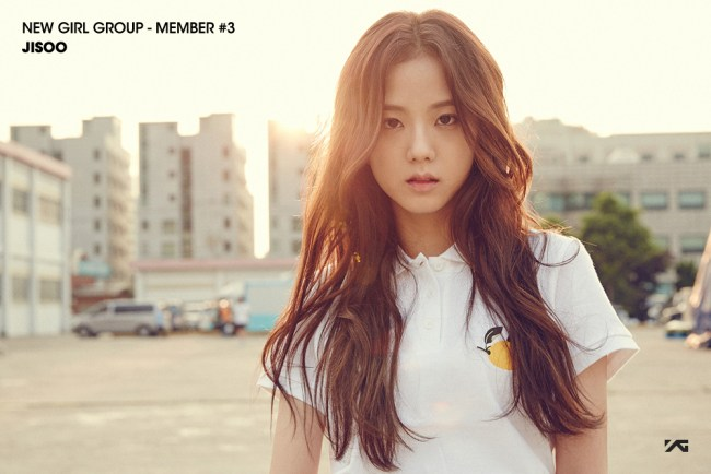 Image: Kim Jisoo for YG Entertainment's new girl group