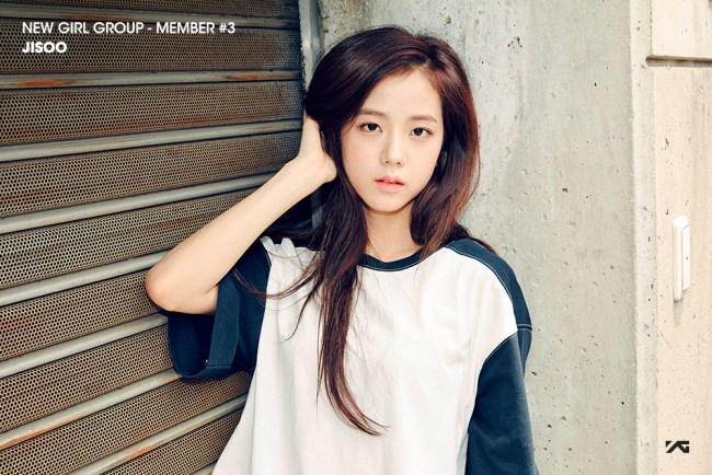 Image: Kim Jisoo for YG Entertainment's new girl community
