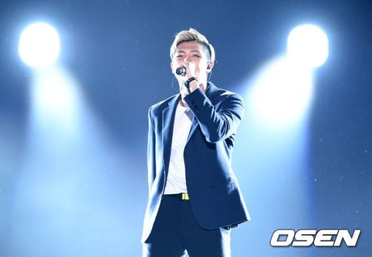 Image: BTS Rap Monster / Photo by OSEN