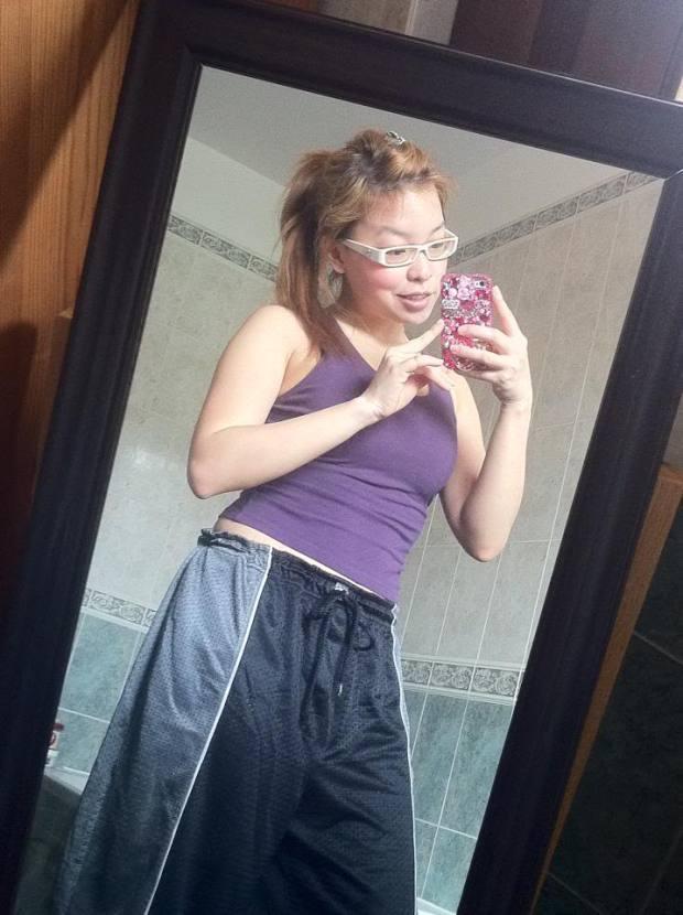 koreandoll angela ricardo workout outfit exercise