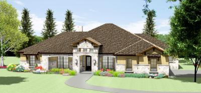S3450R Texas Tuscan Design | Texas House Plans - Over 700 Proven Home Designs Online by Korel ...