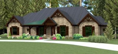 Texas House Plan U2974L | Texas House Plans - Over 700 ...