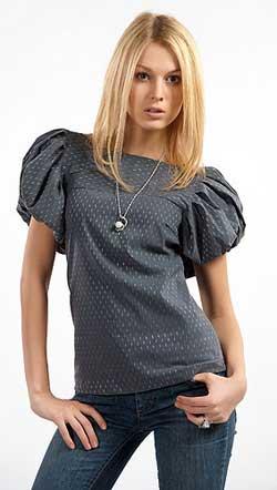 Блузка с воротником как сшить