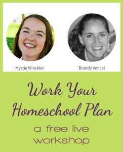 Work the Homeschool Plan