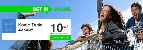 Konto Tanie Zakupy IV Getin Online