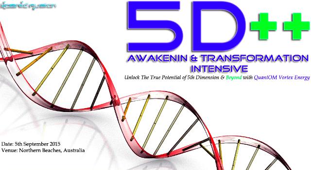 Kosmic Fusion® – 5D++ AwaKeNiN & TrANsForMaTioN Intensive Workshop Northern Beaches NSW Australia - [September 2015] - Kosmic Fusion - Home of Quantum Vortex Energy® small