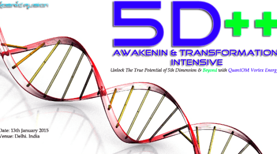 Kosmic Fusion® – 5D++ AwaKeNiN & TrANsForMaTioN Intensive Workshop Delhi  India - [January 2016]