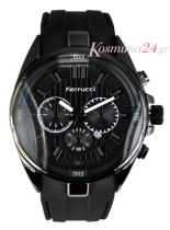 Ferrucci Ανδρικό Ρολόι FC3377 black FC3377 black