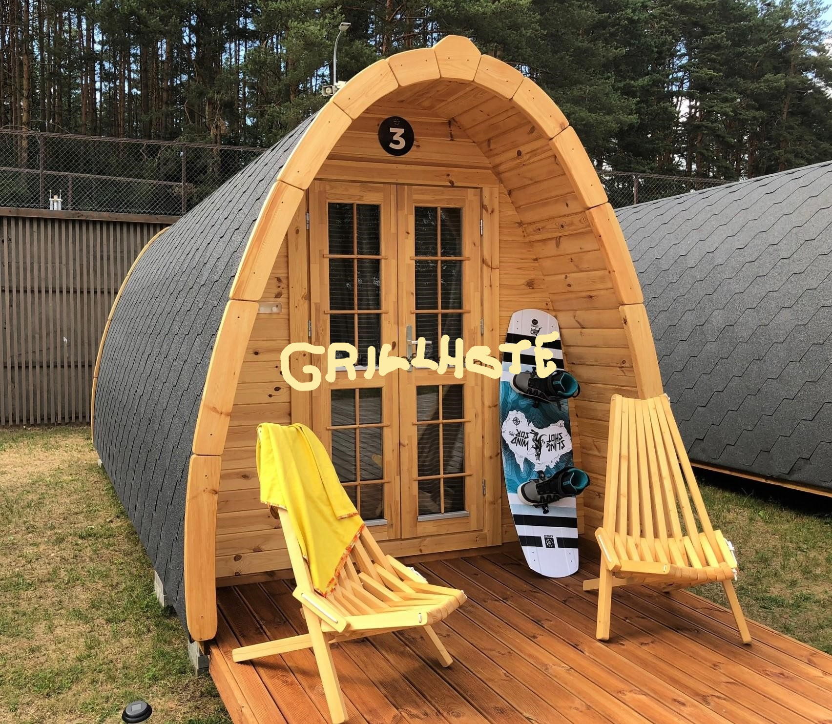 camping pod chalet