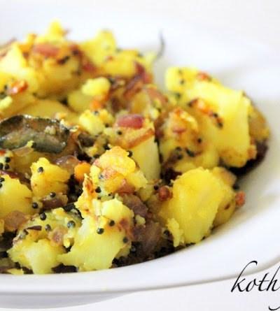 Urulakkizhangu Podimas /Potato Podimas /Mashed Potato Stir Fry