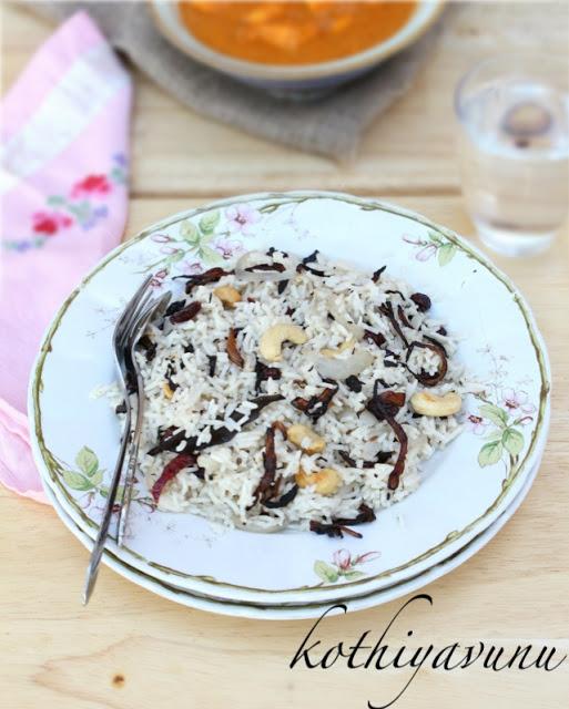 Ney Choru-Ghee Rice Recipe-Malabar Special | Kerala Style Ghee Rice