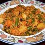 Chettinad Vegetable Perattal