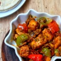 Kadai Paneer Recipe – Dry Version  | Indian Cottage Cheese with Bell Pepper