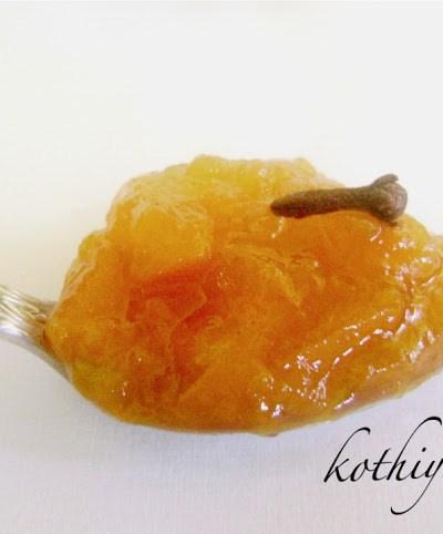 Gingery Peach Jam