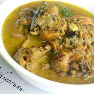 Nadan Pepper Chicken Curry Recipe – Kerala Pepper Chicken Curry Recipe