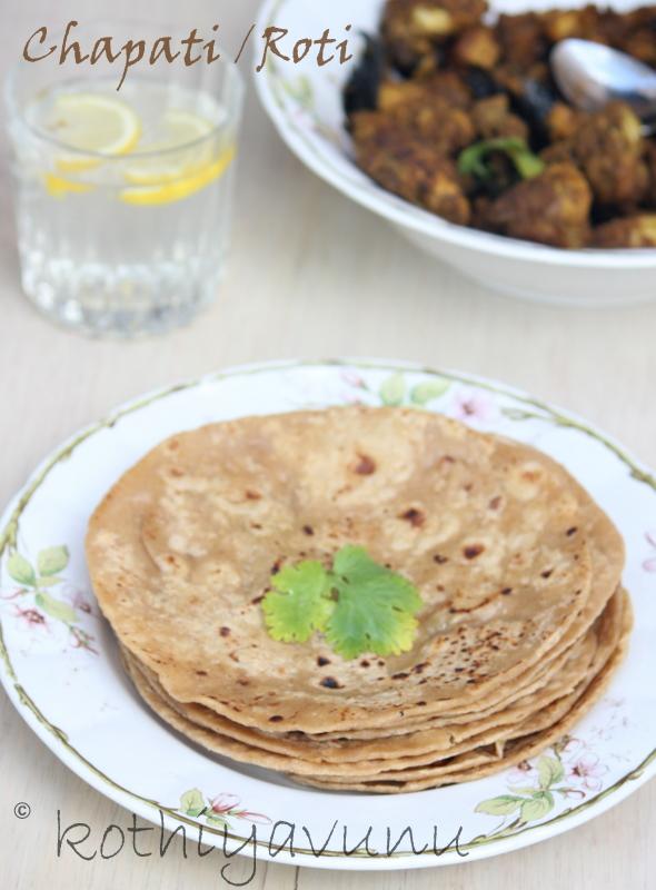 Chapati Recipe   Chapathi-Chappathi Recipe   Roti Recipe ...