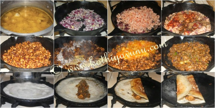 how to make masala dosa in malayalam