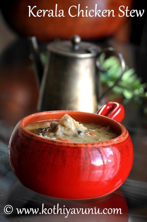Kerala Chicken Stew -Chciken stew |kothiyavunu.com