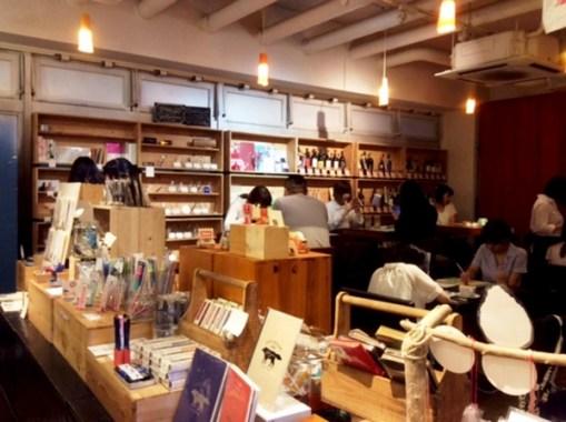 文房具カフェ 文具とカフェ