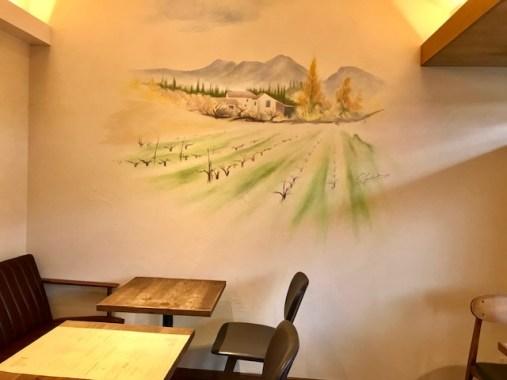 壁のイラスト